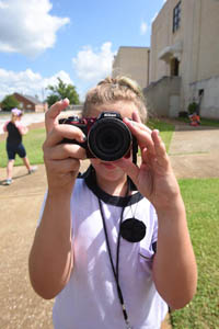 Kids Photography Camp Nacogdoches candids